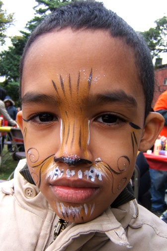 tiger face painting ideas. Contact us to come paint at